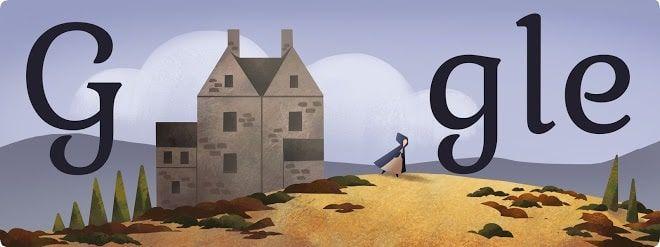 Doodle Charlotte Brontë