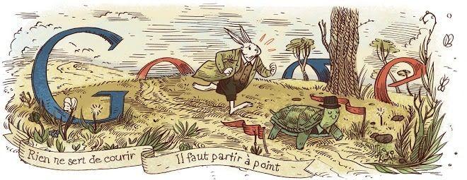 Doodle Jean de la Fontaine