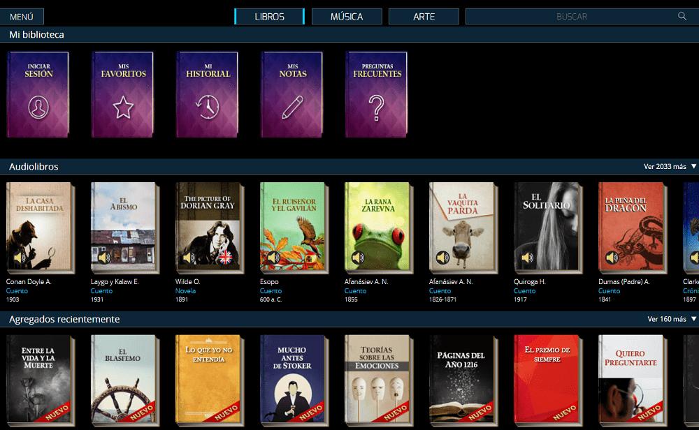 El Libro Total biblioteca en streaming de libros y audiolibros