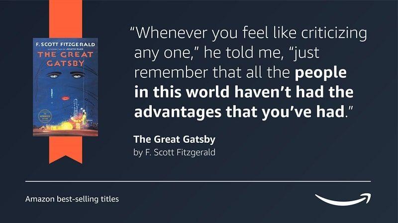 Frase Gatsby Fitzgerald