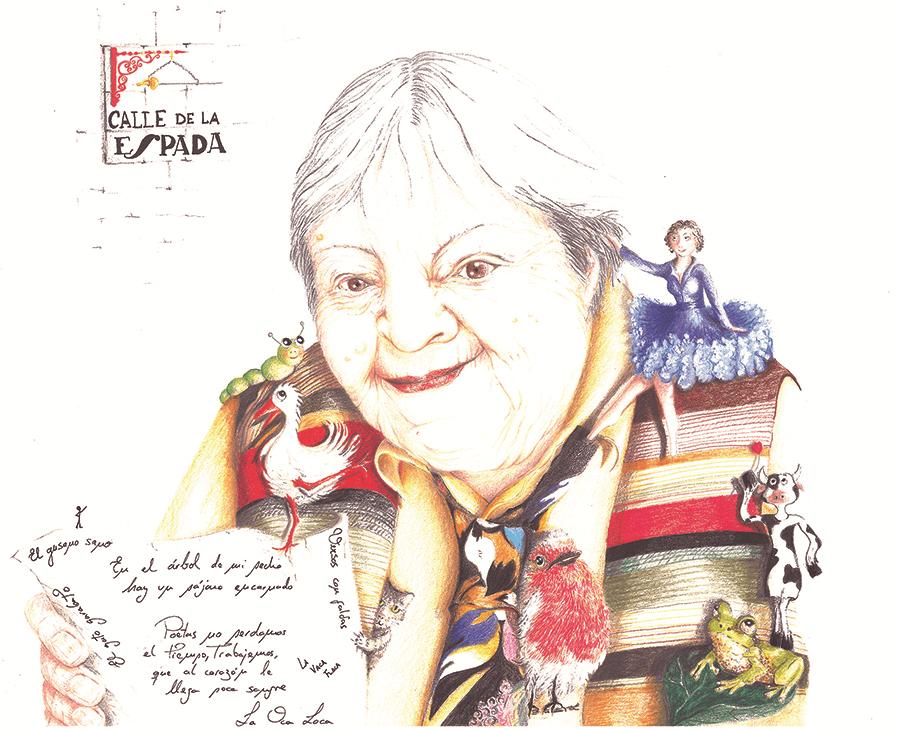 Gloria Fuertes, la poeta
