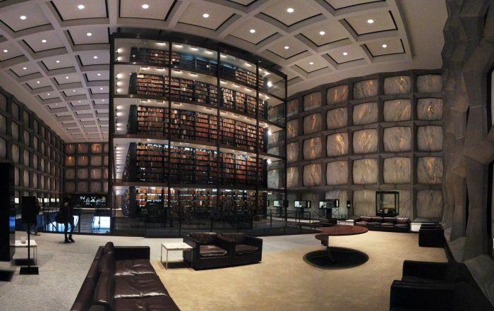 La Biblioteca Beinecke es una de las bibliotecas más maravillosas del mundo