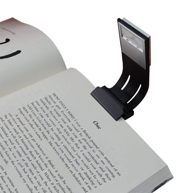 Lámpara de clip para iluminar lecturas nocturnas