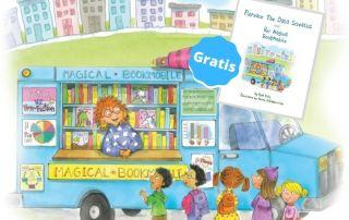 Libro infantil para descubrir el poder de los datos a través de las bibliotecas