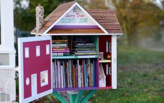 Little Free Library para compartir libros y lecturas entre la vecindad