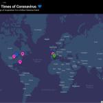 Mapa el amor en tiempos de coronavirus
