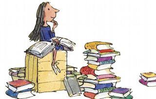 Matilda Roald Dahl libros lectura biblioteca