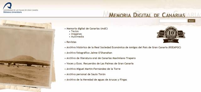 Memoria Digital de Canarias