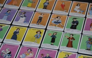 Mujeres en ciencia juego de cartas gratuito