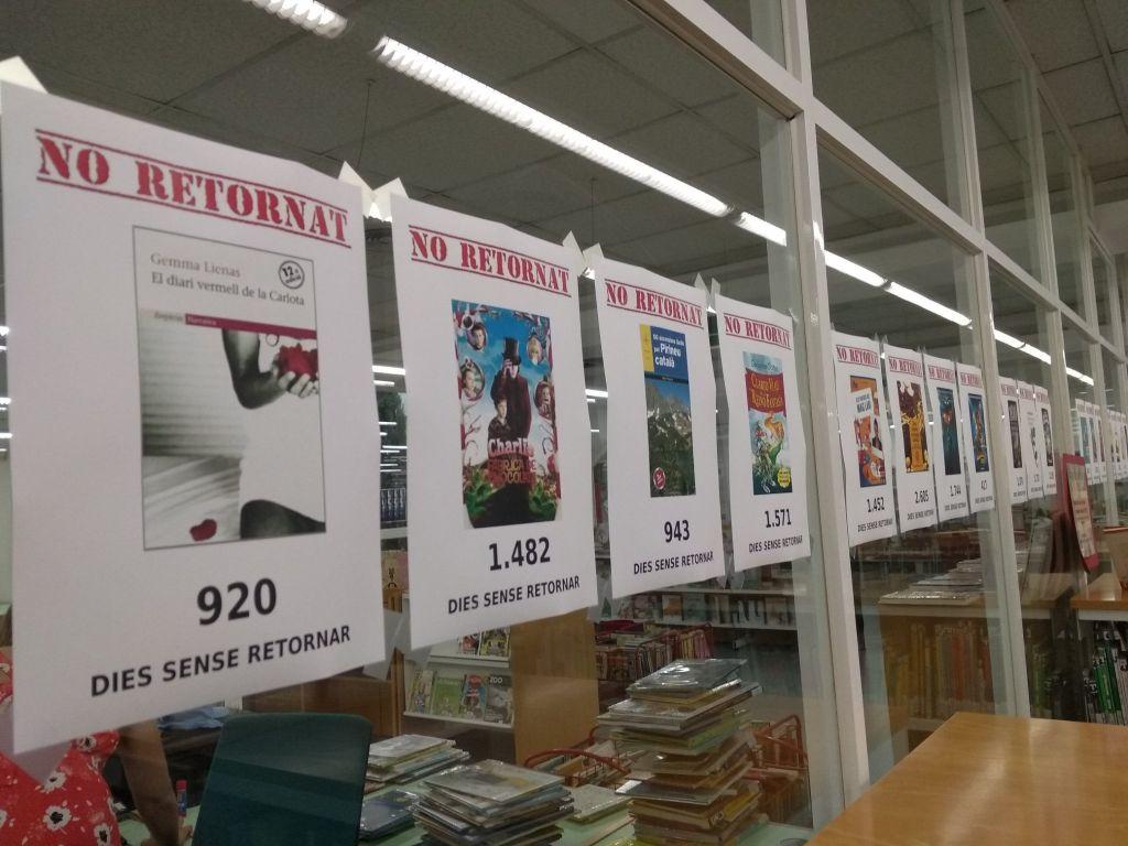 No retornat - Biblioteca Pública de Ripollet