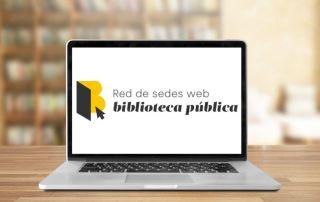 Nuevo logotipo de la Red de sedes web bibliotecas públicas