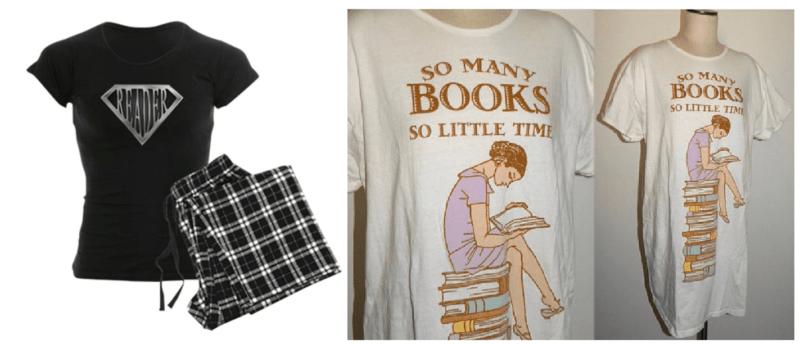 Pijamas para acompañar a la lectura antes de dormir