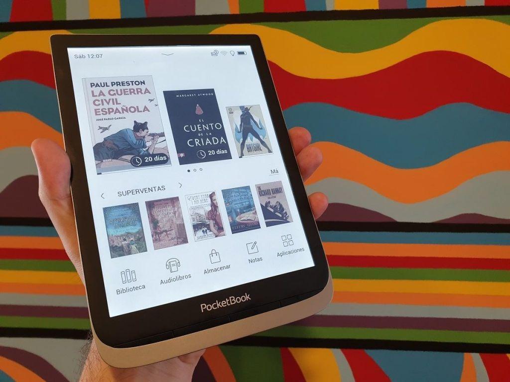 PocketBook InkPad Color lector libros electrónicos a color