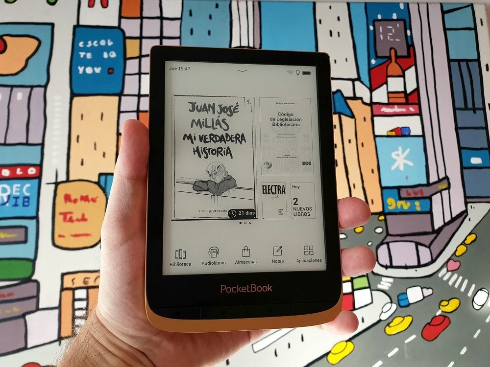 PocketBook Touch HD 3 libro electrónico