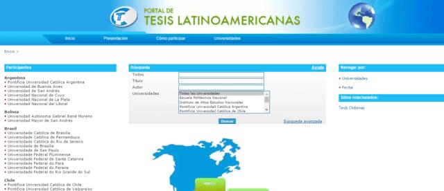 Portal de Tesis Latinoamericanas