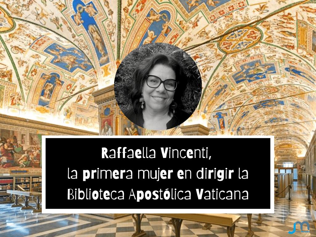 Raffaella Vincenti, la primera mujer en dirigir la Biblioteca Apostólica Vaticana