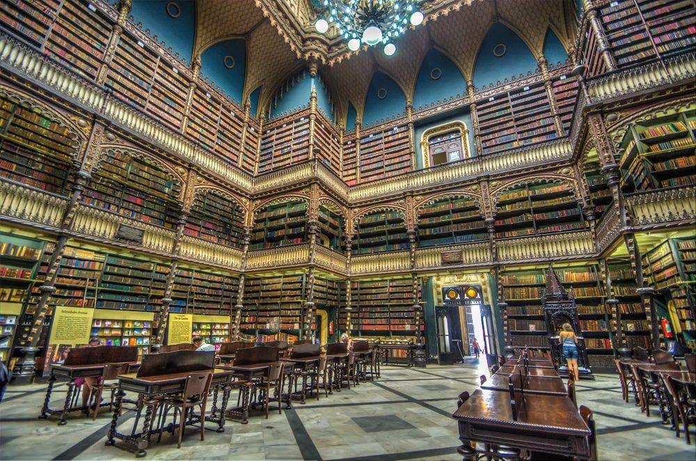 Real Gabinete Portugués de Lectura. CC Mayumi Ishikawa