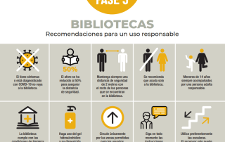 Recomendaciones uso responsable bibliotecas Fase 3