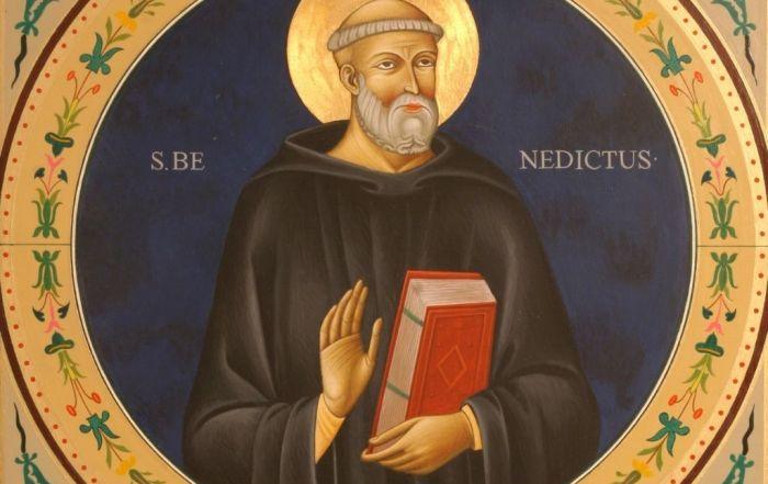 San Benito de Nursia, patrón de archiveros, bibliotecarios y arqueólogos