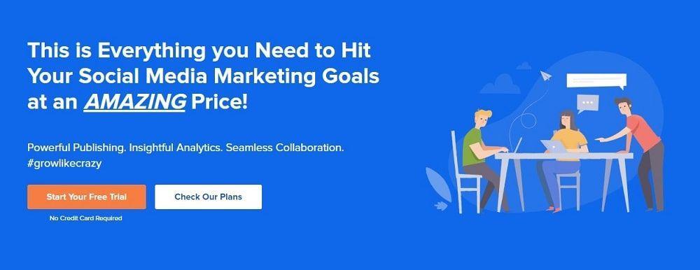 SocialPilot herramienta marketing redes sociales