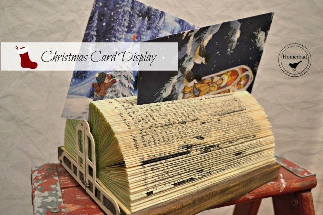 Soporte para tarjetas de Navidad
