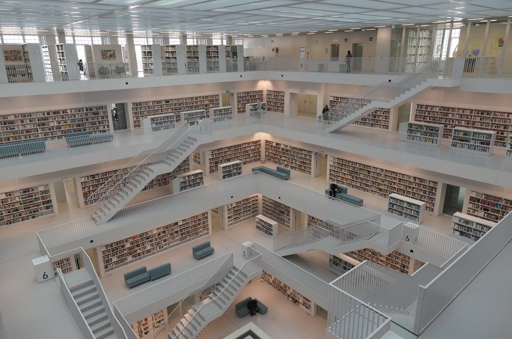 Stuttgart City Library. CC Klaus Bailly