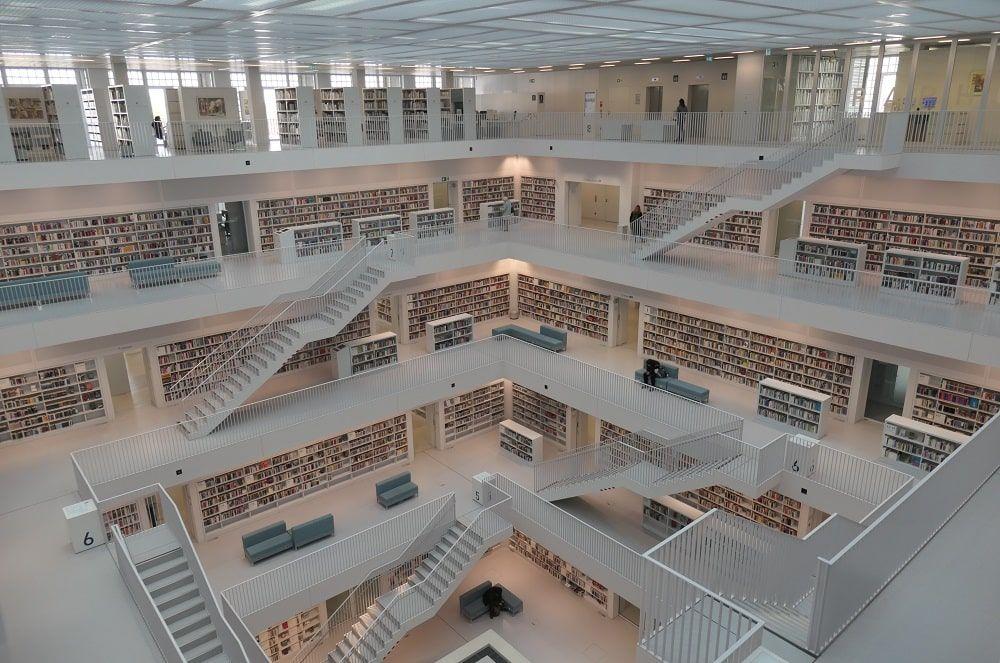 Stuttgart City Library. CC Klaus Bailly