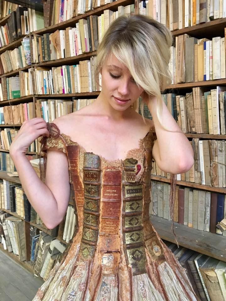 Sylvie Facon - Book dress