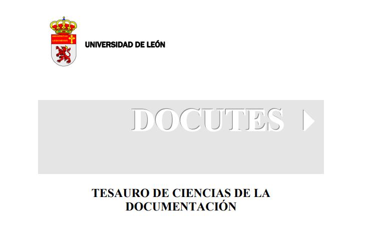 Tesauro de Ciencias de la Documentación