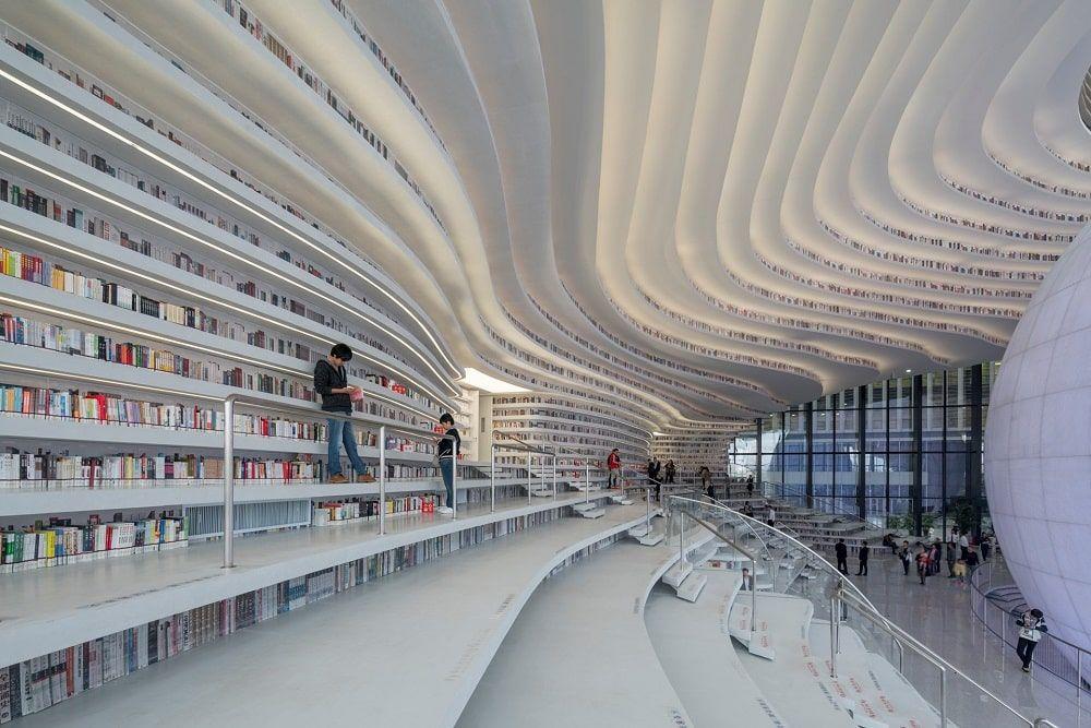 Tianjin Binhai Library 2