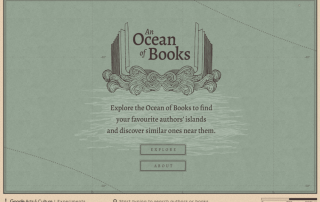 Un océano de libros An Ocean of Books Google