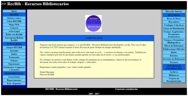 Web final de RecBib
