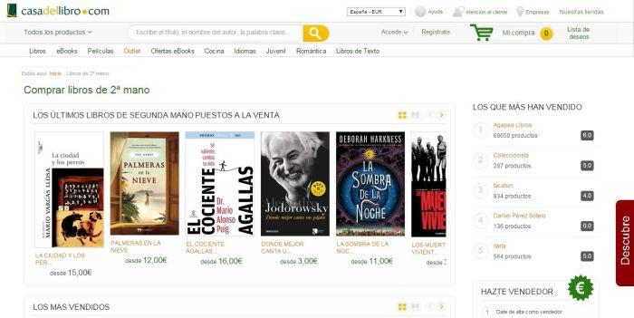 10 sitios web donde vender y o comprar libros de segunda mano - Libreria segunda mano online ...