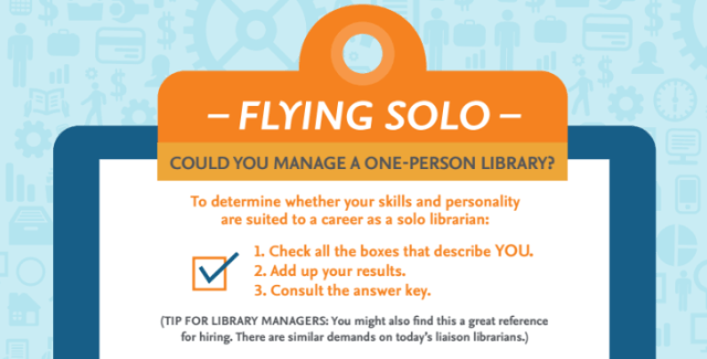 flying solo librarian