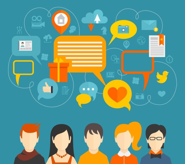 Personas y medios sociales