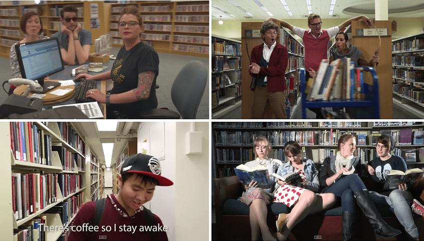 Videoclip biblioteca
