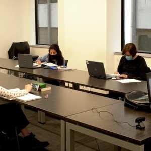溫哥華語言學校VGC 教室
