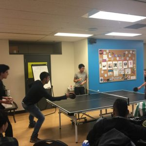 iTTTi Vancouver 溫哥華語言學校-學校桌球室