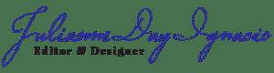 Julianne Day Ignacio - Editor and Designer - Logo