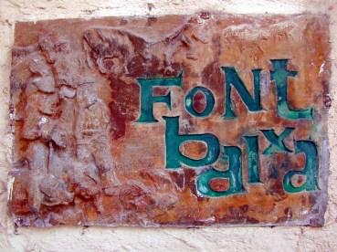 Font Baixa (Albert Trull)