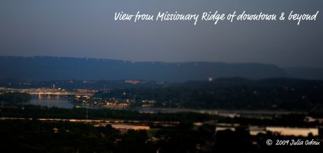 View from Missionary Ridge