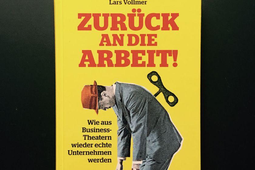Interview: Vier Fragen an Lars Vollmer, Autor des Spiegel-Bestsellers »Zurück an die Arbeit«