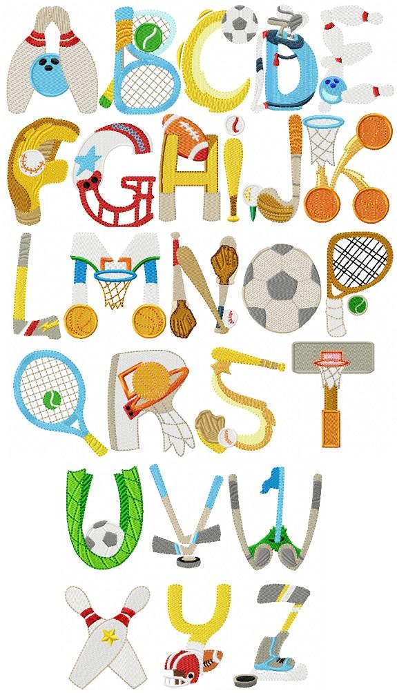 Alphabet Sports