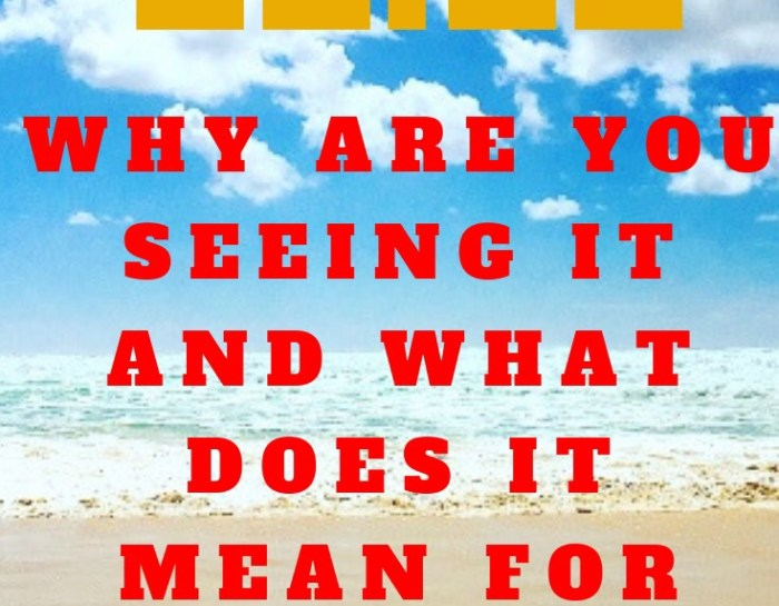 11.11- WHY YOU ARE SEEING IT AND WHAT IT MEANS FOR YOU!