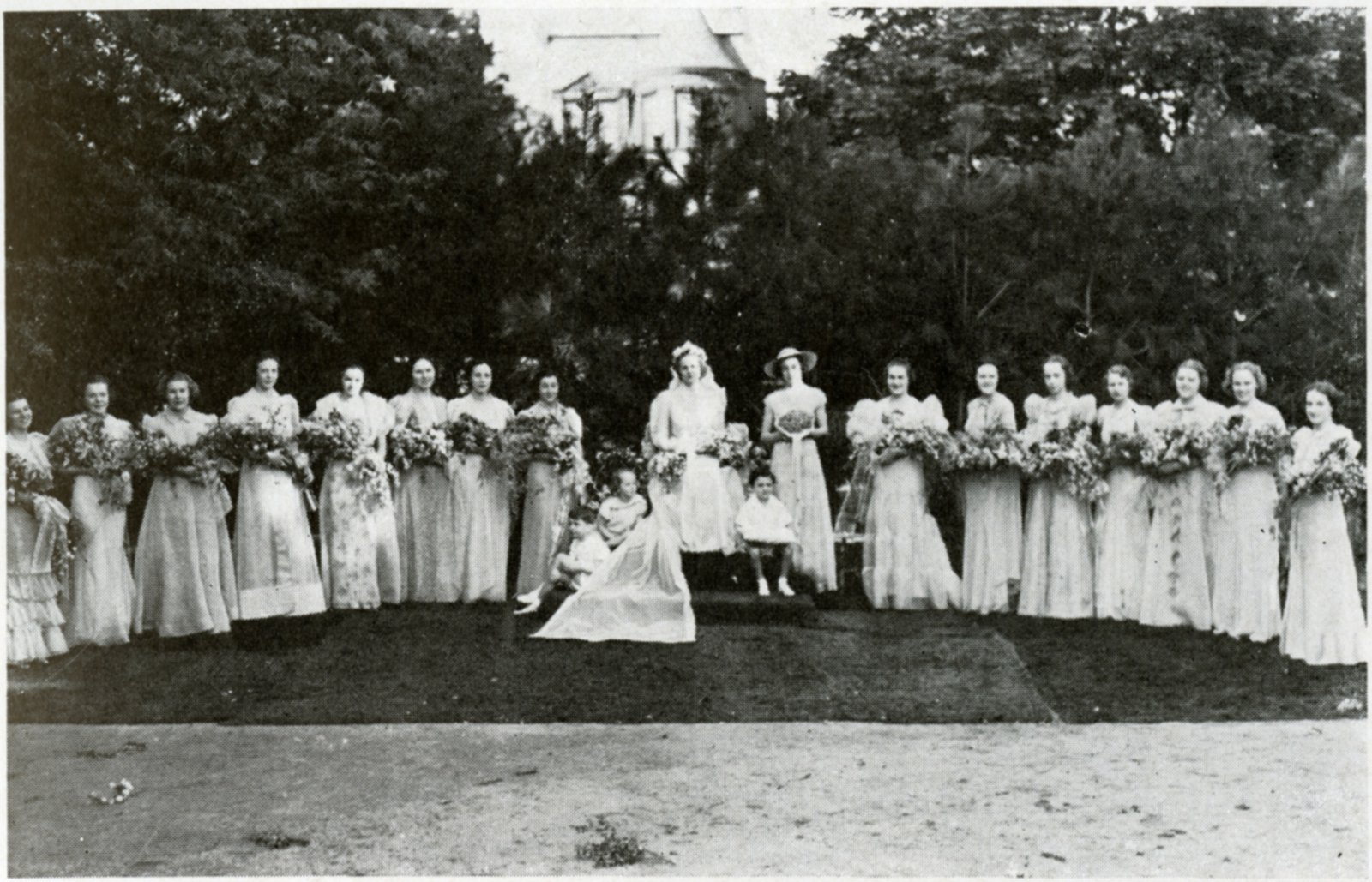 1937 Torch - May Day - Court - C. 1936 - 1937