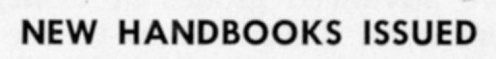 ""\""""New Handbooks Issued"""" in The Match, November 1958""496|59|?|en|2|714c179d588a39668ab6dc2d3ba7bcc3|False|UNLIKELY|0.2922855615615845