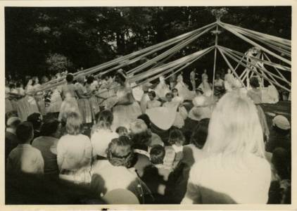May Day Maypole, 1958