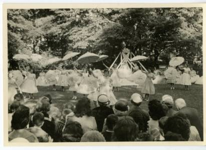 May Day Parasols, 1958