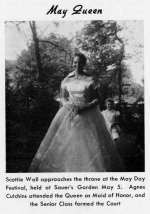 """May Queen"" from The Match, May 1959"