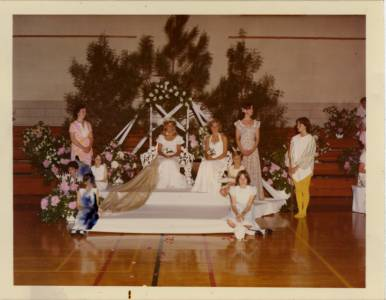 May Day Queen and Court, 1977